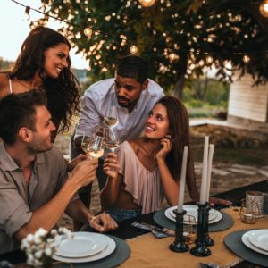 Food and wine brings people together